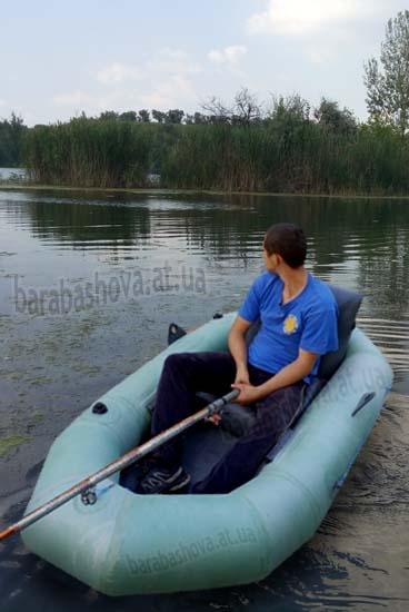 Надувное кресло для лодок ПВХ